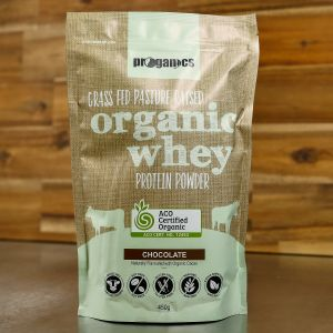 Proganics Organic Whey Protein Powder Chocolate 450g
