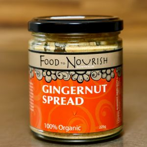 Food To Nourish Sprouted Gingernut Spread