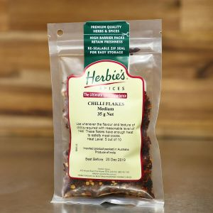 Herbie's Chilli Flakes (Medium) 35g