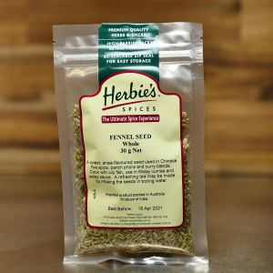 Herbie's Fennel Seed Whole 30g