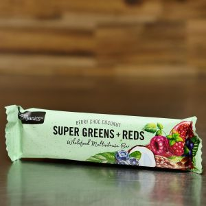 Nutra Organics Super Greens + Reds Multivitamin Energy Bar