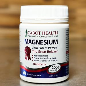 Cabot Health Magnesium Ultra Potent Powder Strawberry