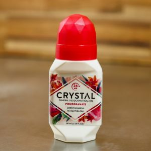 Crystal Mineral Roll-on Deodorant - Pomegranate