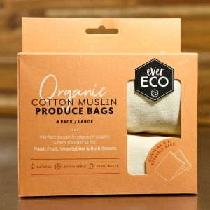Ever Eco Cotton Muslin Produce Bags - Large
