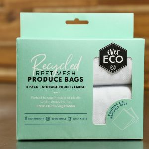 Ever Eco Recycled rPET Mesh Produce Bags - Large