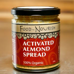 Food To Nourish Activated Almond Spread 225g