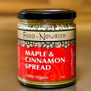 Food To Nourish Maple & Cinnamon Spread