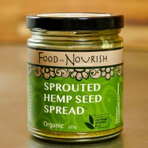 Food To Nourish Hemp Seed Spread