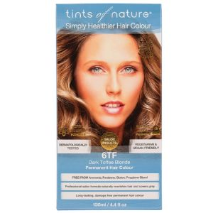 Tints of Nature Permanent Hair Colour - Dark Toffee Blonde 6TF