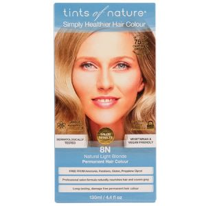 Tints of Nature Permanent Hair Colour - Natural Light Blonde 8N