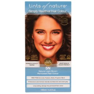 Tints of Nature Permanent Hair Colour - Natural Light Brown 5N