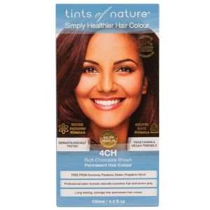 Tints of Nature Permanent Hair Colour - Rich Chocolate Brown 4CH
