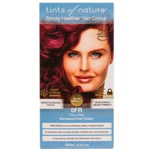 Tints of Nature Permanent Hair Colour - Fiery Red 5FR