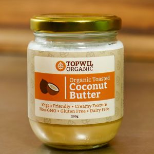 Topwil Organic Toasted Coconut Butter
