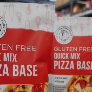 GNF kitchen test: the gluten free food co quick mix pizza base