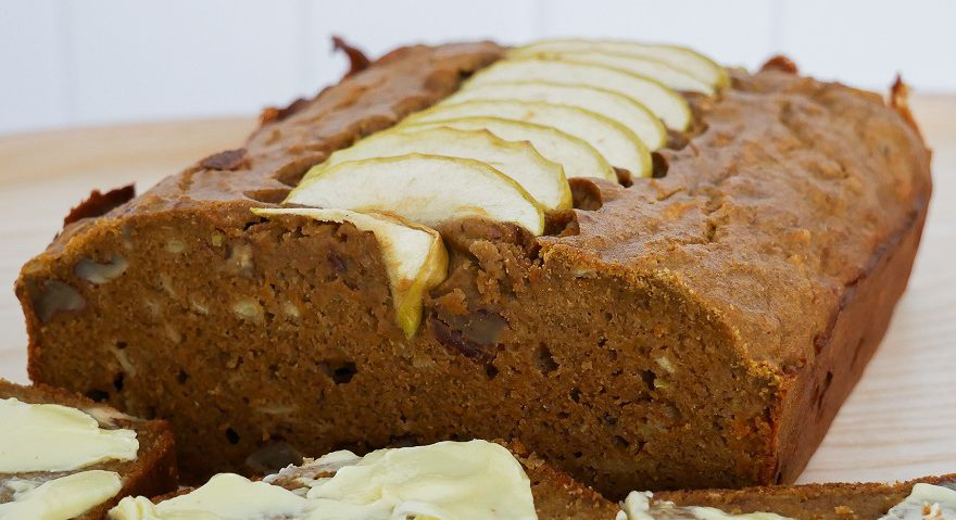 Apple Pumpkin Banana Flour Bread