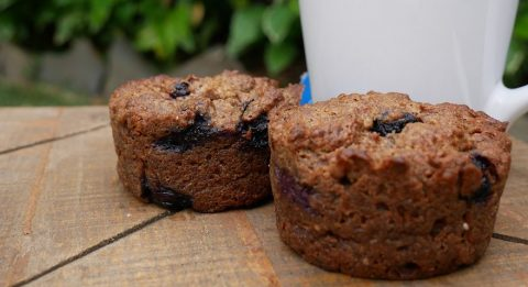 Blueberry Breakfast muffins Website 2