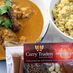 Massaman Chicken Curry (with Curry Traders Spice Kit)