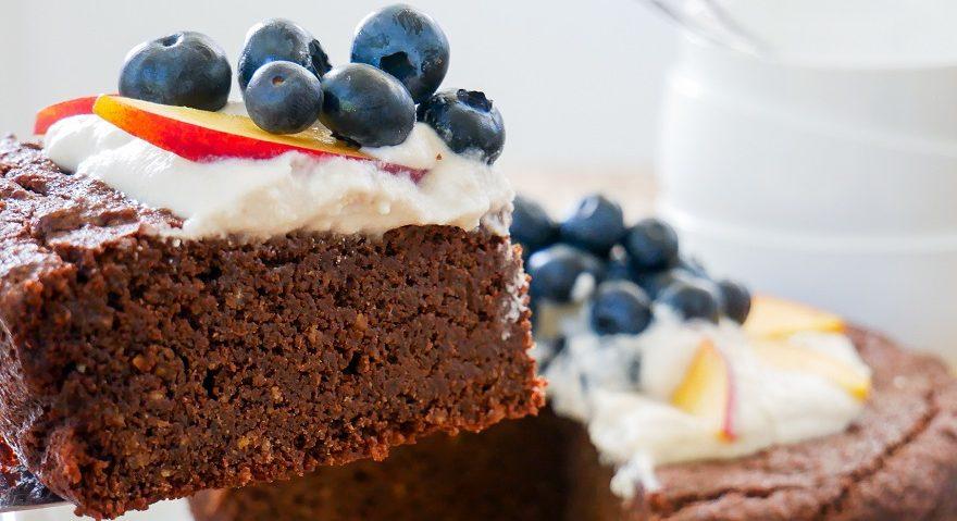 Kombucha Chocolate Cake