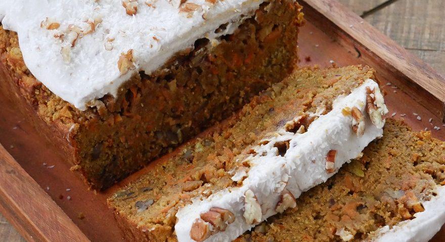 Lupin Carrot Cake