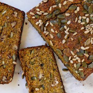 nut free pumpkin bread