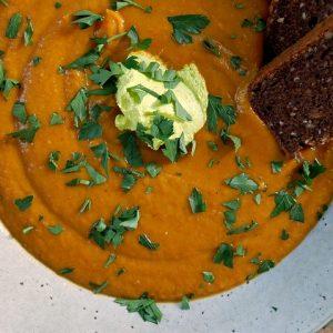 krystie's pumpkin soup