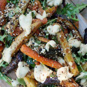 roast vegetable summer salad