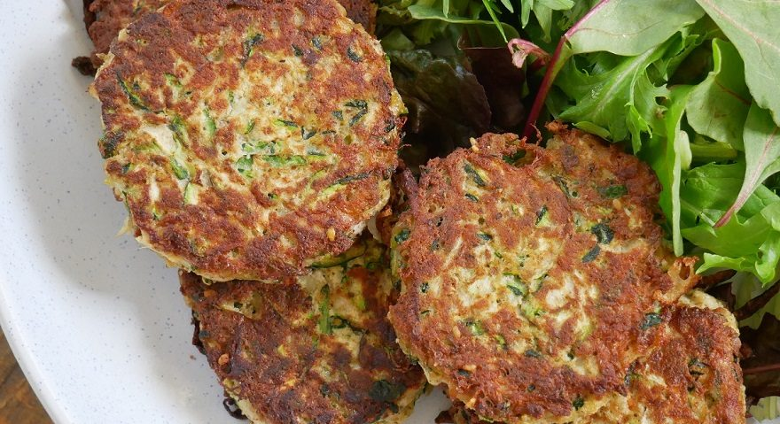Zucchini Fritters (5) - Website