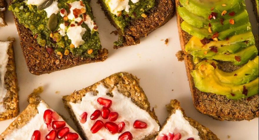 mixed sprouted bread