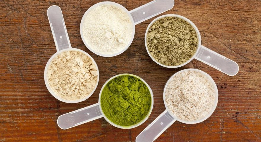 measuring cups protein powders